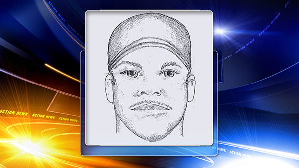 Camden police have released a composite sketch of a suspect wanted in a sexual assault.