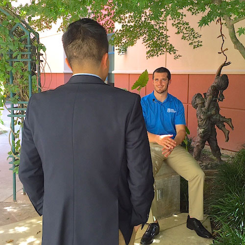 Tommy Tran speaks with Derek Carr