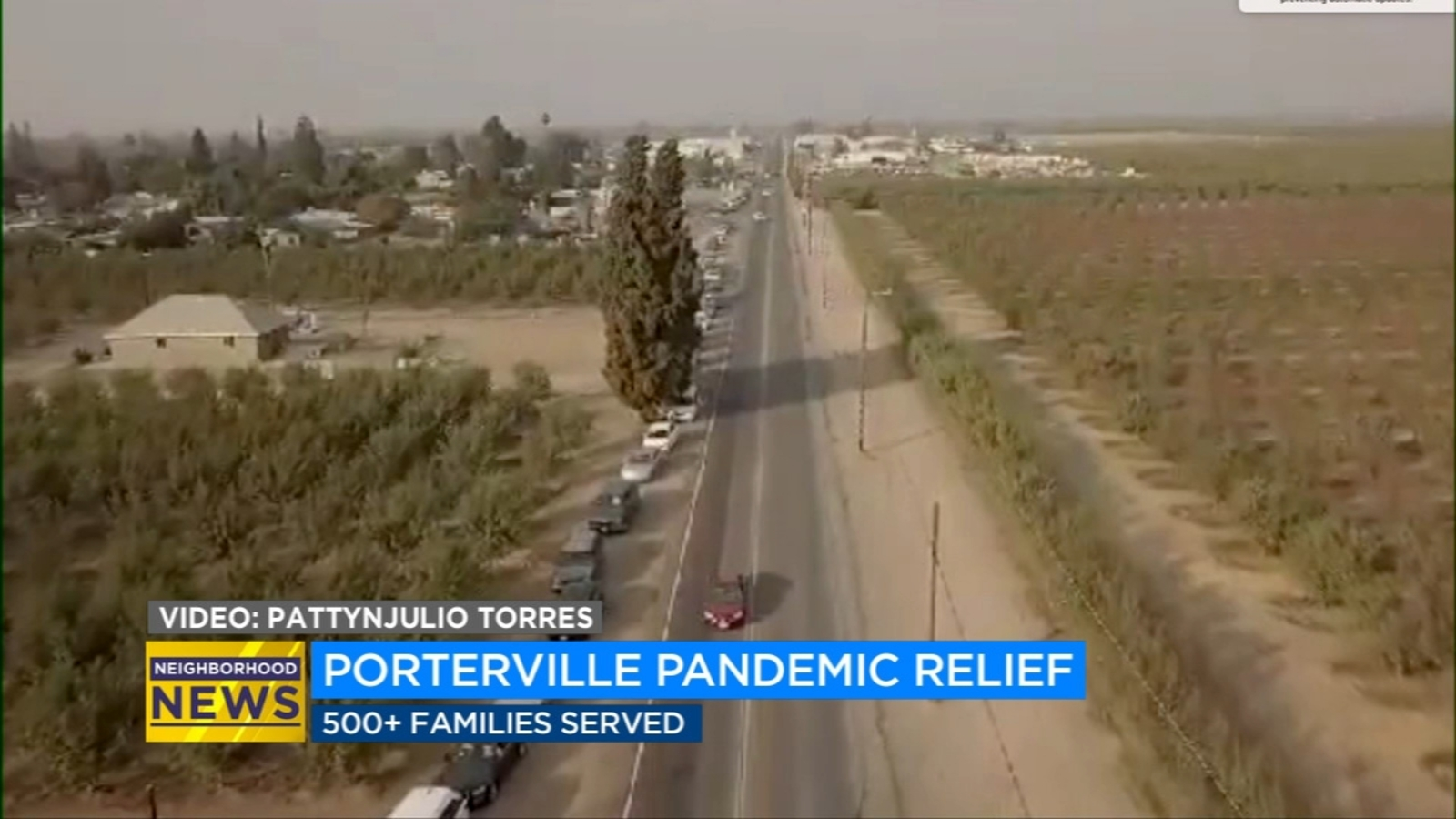 Pandemic relief event held for Tulare County agricultural families
