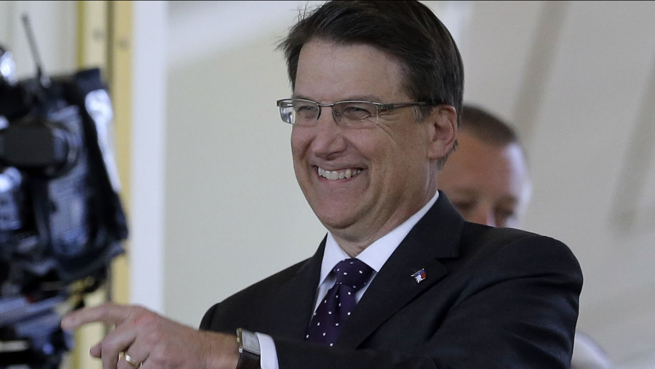 Governor Pat McCrory (AP Photo/Gerry Broome)
