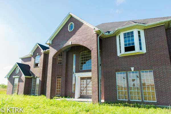 "<div class=""meta image-caption""><div class=""origin-logo origin-image none""><span>none</span></div><span class=""caption-text"">This 60,175 sq ft brick home, located on 2354 County Road 59, is now on the market (KTRK Photo)</span></div>"