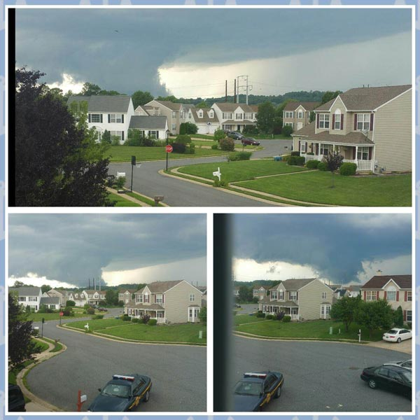 "<div class=""meta image-caption""><div class=""origin-logo origin-image wpvi""><span>WPVI</span></div><span class=""caption-text"">June 30, 2015: Action News viewer  Ericka Morales sent in this photo of the storm in Glasgow, Delaware.</span></div>"
