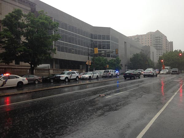 """<div class=""""meta image-caption""""><div class=""""origin-logo origin-image """"><span></span></div><span class=""""caption-text"""">Police were called to the Community College of Philadelphia Wednesday after a report of a person with a weapon.</span></div>"""