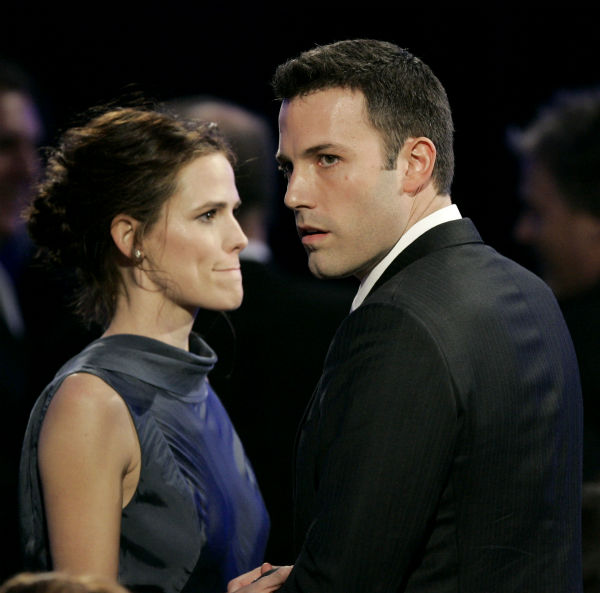 "<div class=""meta image-caption""><div class=""origin-logo origin-image none""><span>none</span></div><span class=""caption-text"">Jennifer Garner, left, and Ben Affleck during the 12th annual Critics' Choice Awards on Friday, Jan. 12, 2007 in Santa Monica, Calif. (AP Photo/Kevork Djansezian) (AP Photo/ Kevork Djansezian)</span></div>"
