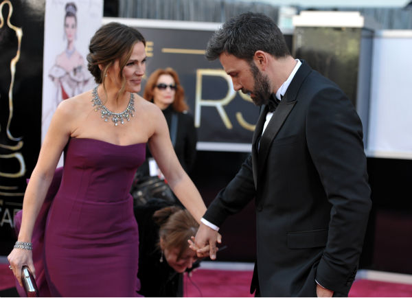 <div class='meta'><div class='origin-logo' data-origin='none'></div><span class='caption-text' data-credit='Photo/John Shearer'>Actors Jennifer Garner, left, and Ben Affleck arrive at the Oscars at the Dolby Theatre on Sunday Feb. 24, 2013, in Los Angeles. (Photo by John Shearer/Invision/AP)</span></div>