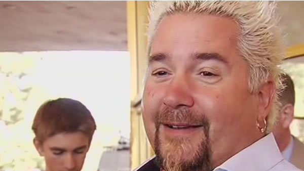 Celebrity chef Guy Fieri