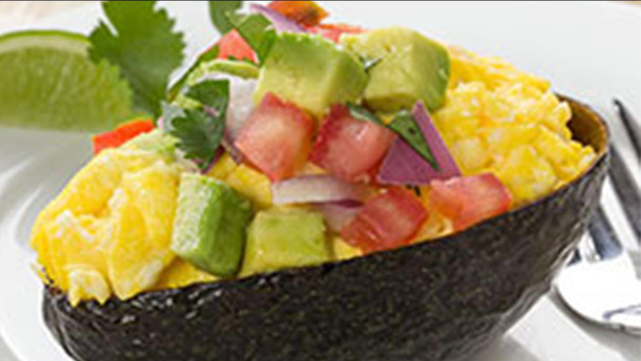 Avocado Breakfast Boats