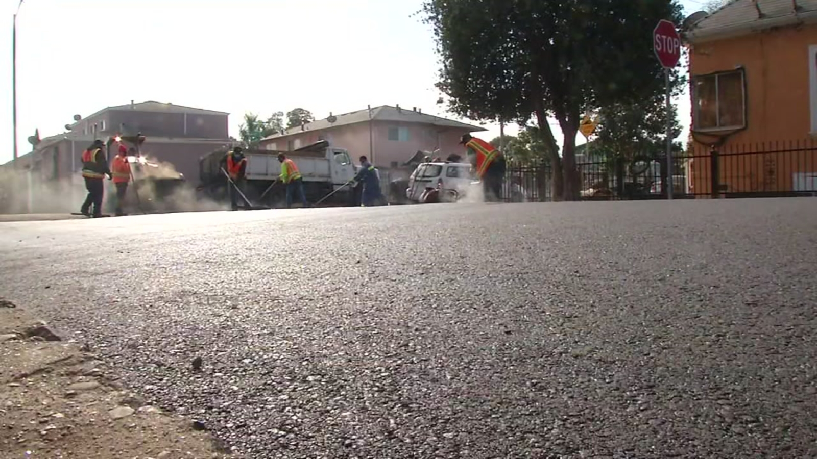 Nearly 40 miles of crumbling Oakland streets repaired at record-setting pace