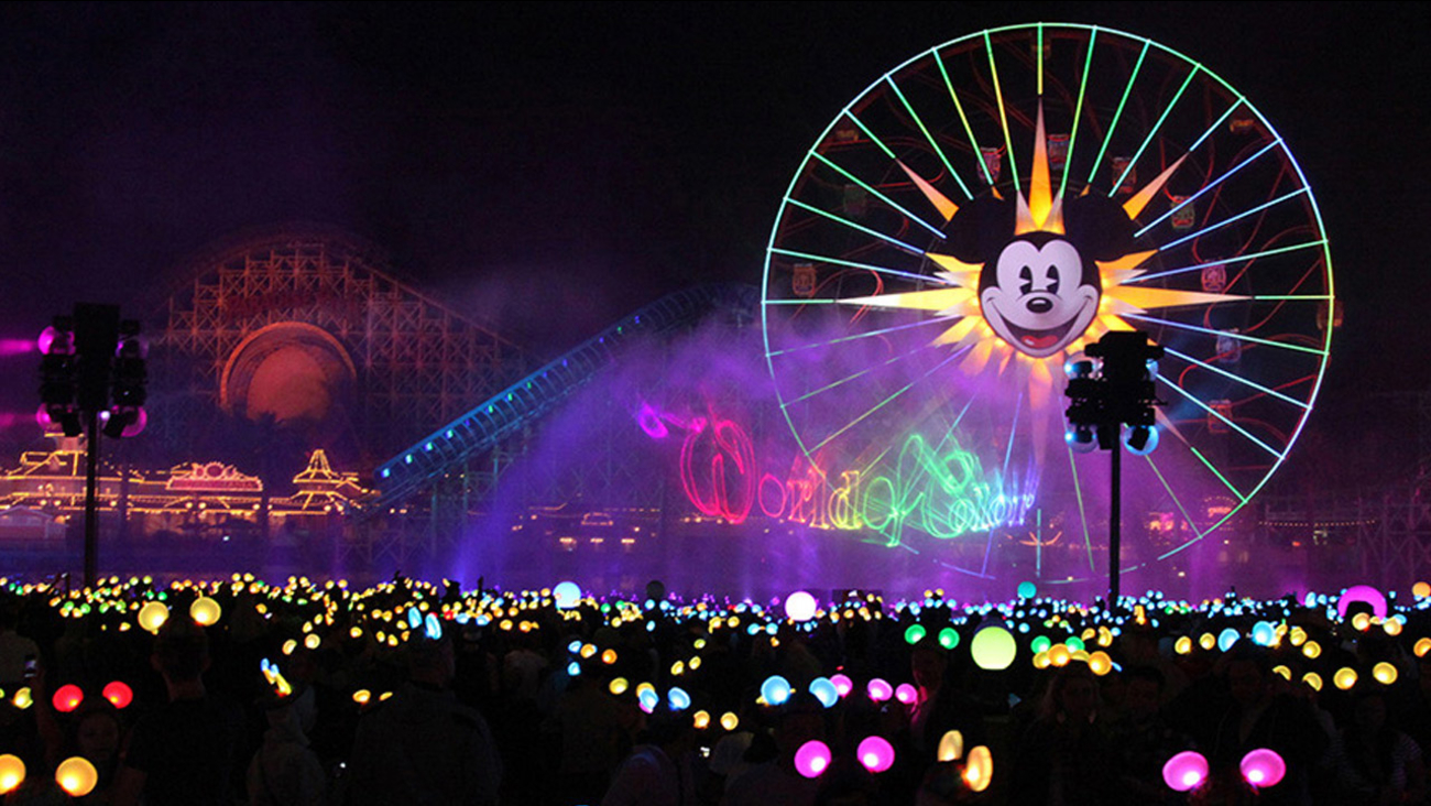 "File image of the new ""World of Color"" show that debuted in May 2015 as part of Disneyland's 60-year diamond anniversary celebration."