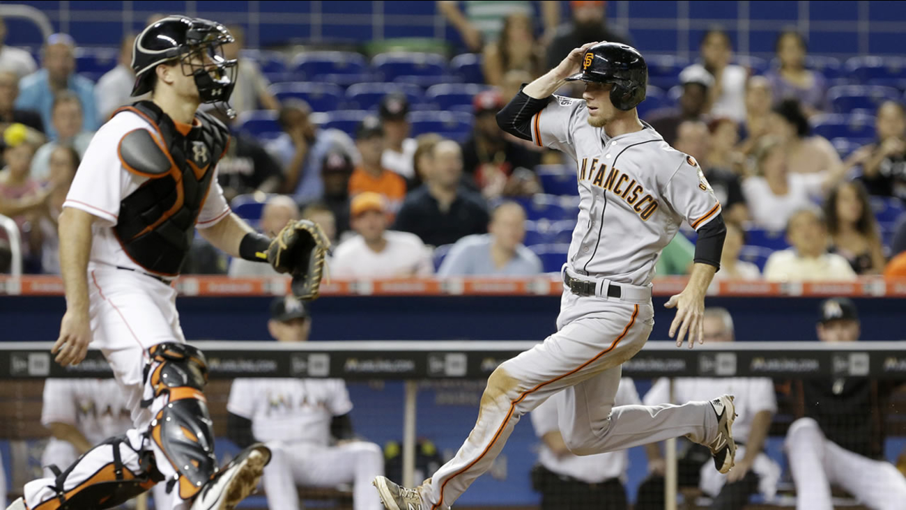 San Francisco Giants' Matt Duffy