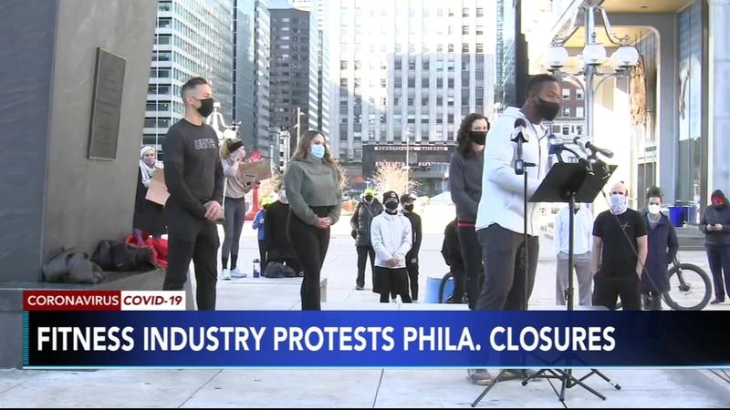 Philadelphia Covid 19 Today Philadelphia Fitness Coalition Protesting Gym Closures In City Amid Coronavirus Pandemic 6abc Philadelphia