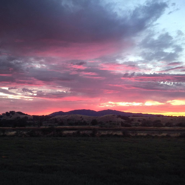 "<div class=""meta image-caption""><div class=""origin-logo origin-image none""><span>none</span></div><span class=""caption-text"">This beautiful sunset was spotted in San Rafael, Calif. on July 1, 2015. (Photo submitted to KGO-TV by ‏@Kyle_McLorgBASG/Twitter)</span></div>"
