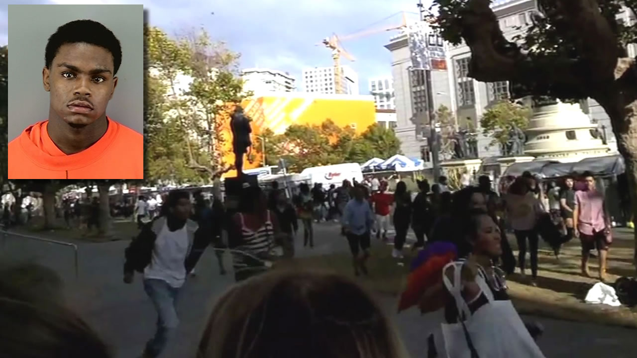Joshua Spencer and the shooting scene at UN Plaza
