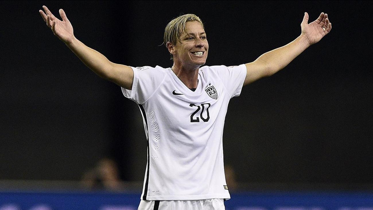 cd663e5544a U.S. Women s Soccer Team hilariously impersonates teammate Abby Wambach