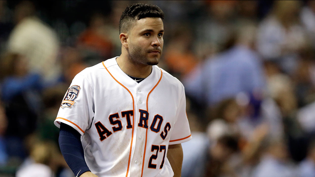 Houston Astros' Jose Altuve