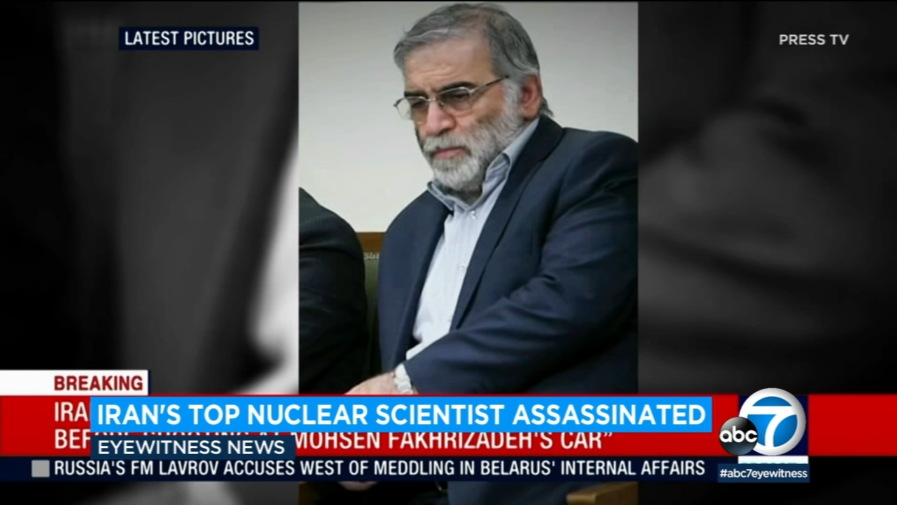 Iran scientist linked to military nuclear program 'assassinated,' state TV says
