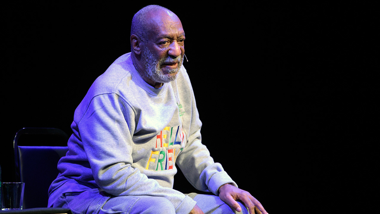 Comedian Bill Cosby performs during a show at the Maxwell C. King Center for the Performing Arts in Melbourne, Fla., Friday, Nov. 21, 2014.
