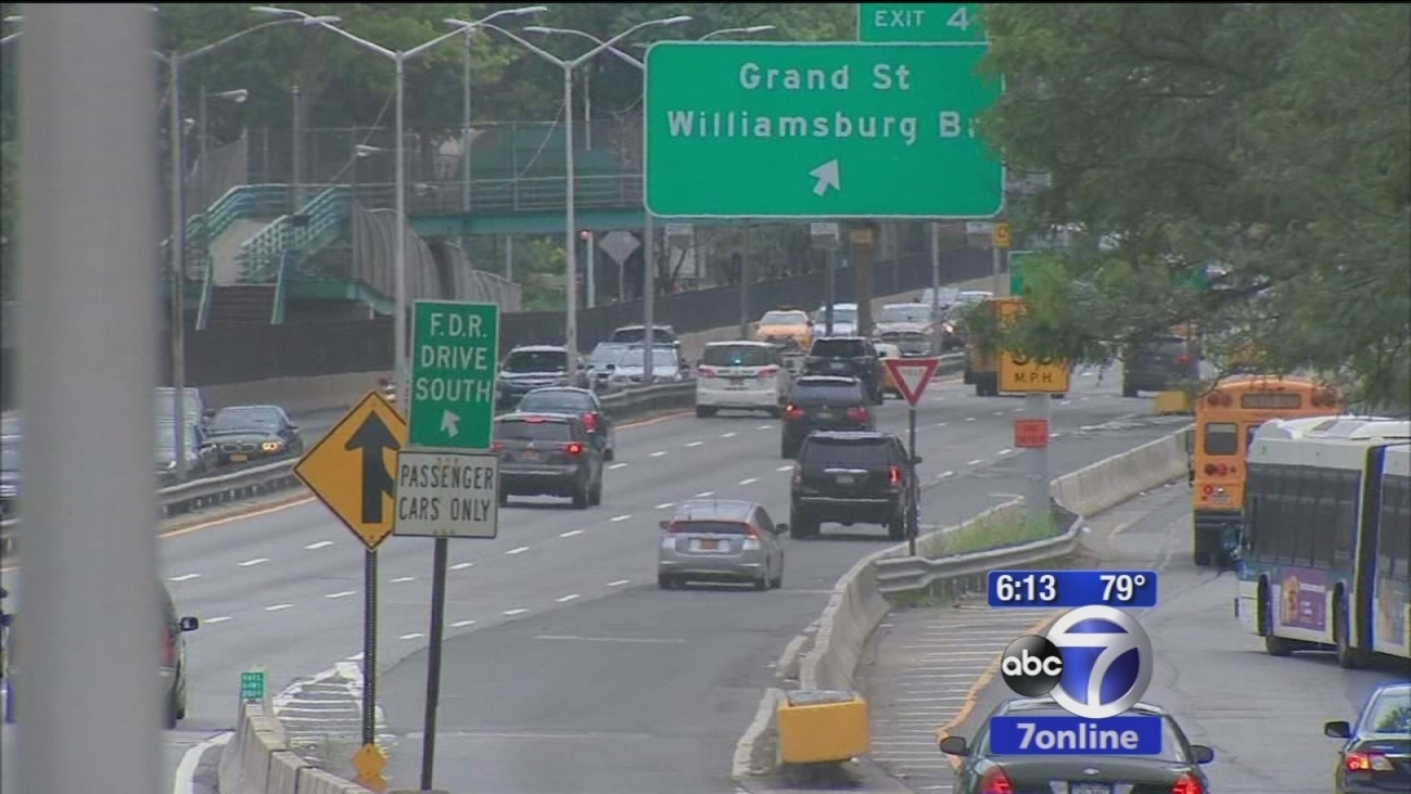 Drivers can expect major delays during FDR resurfacing project