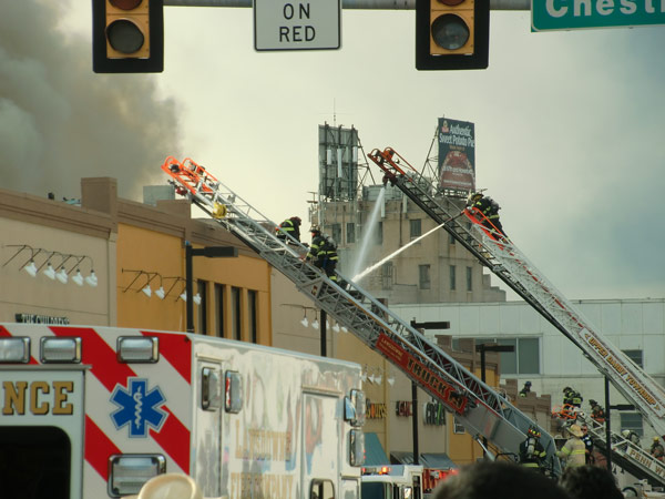 """<div class=""""meta image-caption""""><div class=""""origin-logo origin-image none""""><span>none</span></div><span class=""""caption-text"""">Action News viewer Matthew DiStefano took this photo from scene of Upper Darby fire. (6abcAction)</span></div>"""