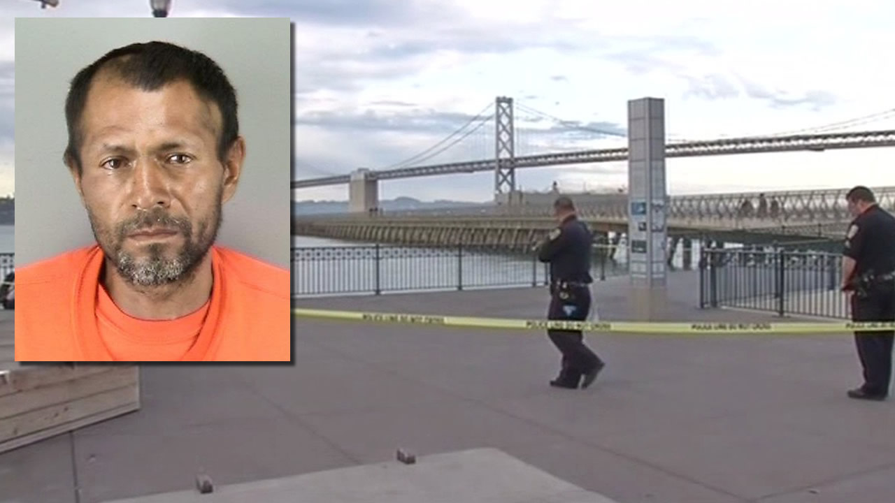 Francisco Sanchez, 45, has been charged with murder in connection with the shooting death of 32-year-old Kathryn Steinle in San Francisco on July 2, 2015.