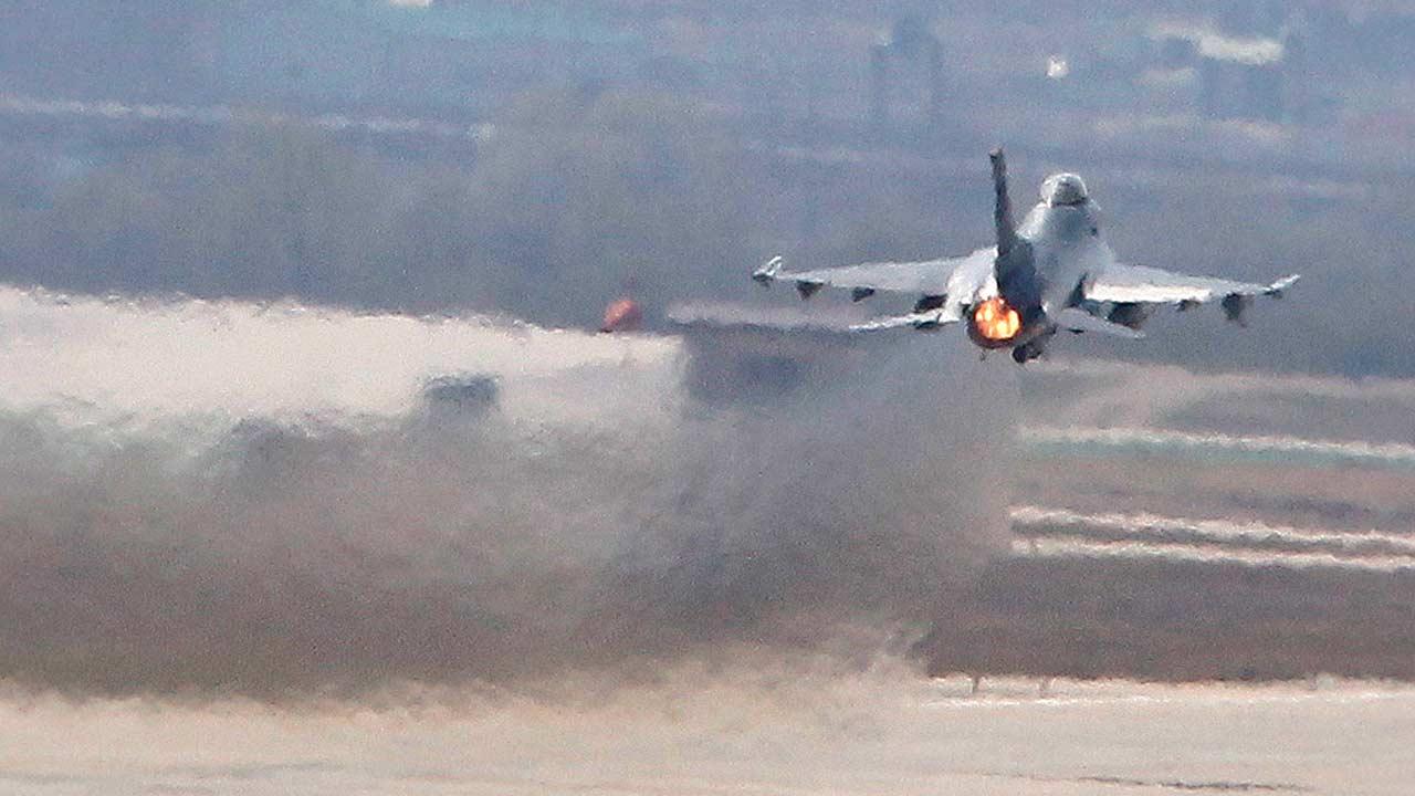 U.S. Air Force F-16 fighter jet