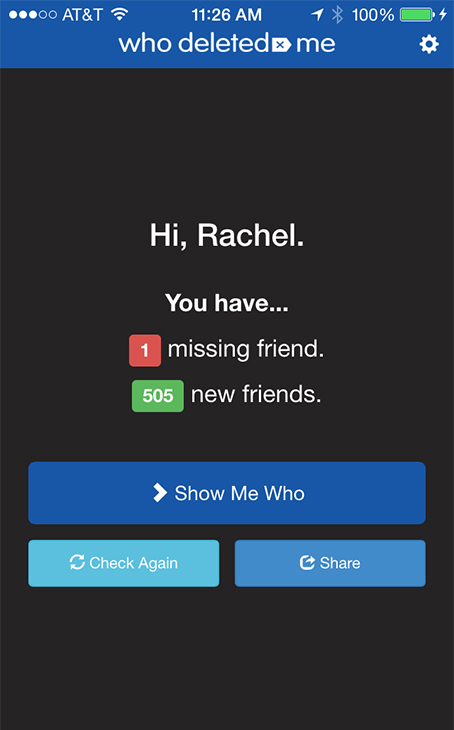 New app lets you know when someone unfriends you on ...