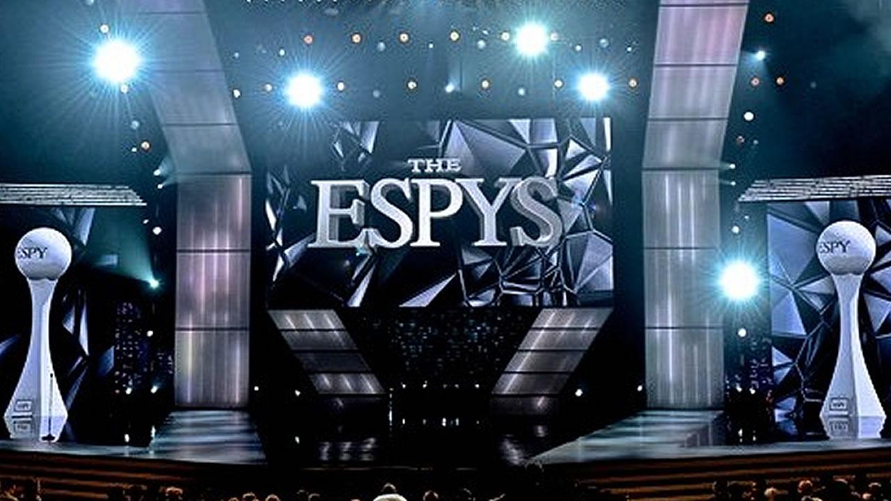 2015 ESPYS show stage