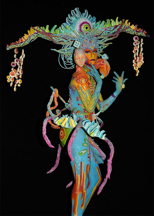 """<div class=""""meta image-caption""""><div class=""""origin-logo origin-image none""""><span>none</span></div><span class=""""caption-text"""">More than 30,000 visitors attended the 18th annual World Bodypainting Festival, which calls itself """"a melting pot of artistic performances, body art, art, music and lifestyle."""" (Didier Messens/Getty Images)</span></div>"""