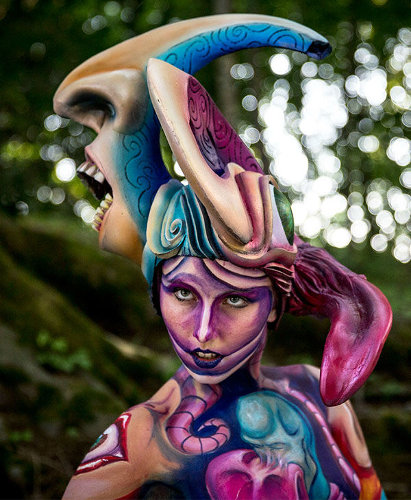 """<div class=""""meta image-caption""""><div class=""""origin-logo origin-image none""""><span>none</span></div><span class=""""caption-text"""">More than 30,000 visitors attended the 18th annual World Bodypainting Festival, which calls itself """"a melting pot of artistic performances, body art, art, music and lifestyle."""" (Jan Hetfleisch/Getty Images)</span></div>"""