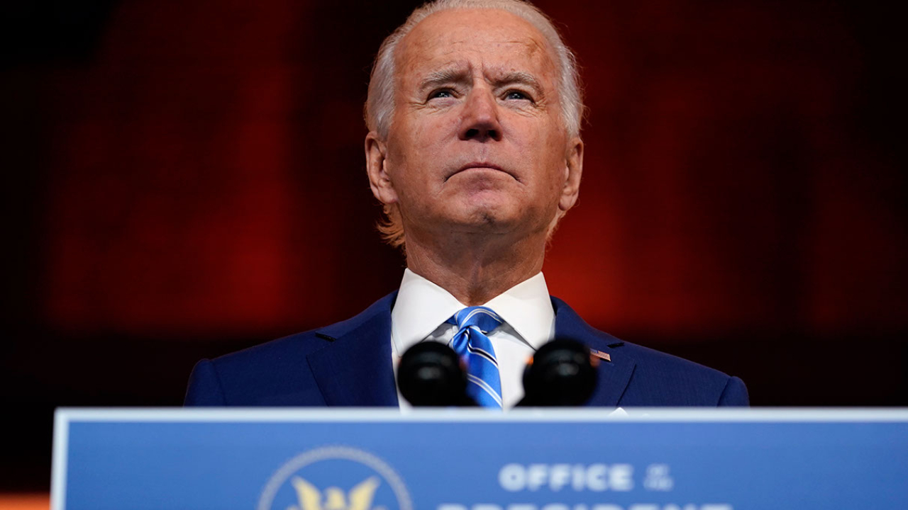 Doctor says President-elect Biden sprained a foot while playing with his dog