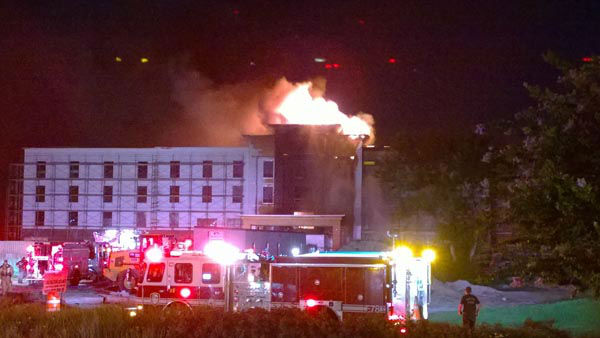 """<div class=""""meta image-caption""""><div class=""""origin-logo origin-image none""""><span>none</span></div><span class=""""caption-text"""">A hotel that was under construction in west Houston caught fire early Thursday morning. (Photo/KTRK Photo)</span></div>"""