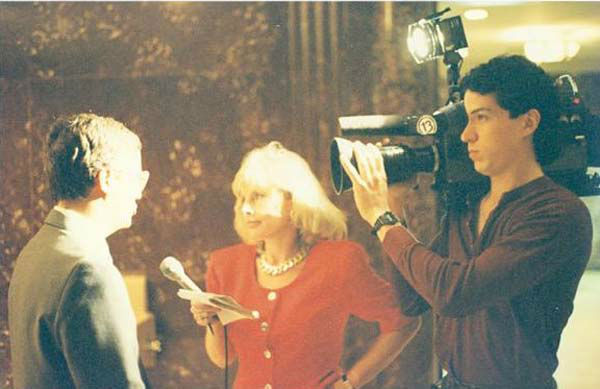 <div class='meta'><div class='origin-logo' data-origin='none'></div><span class='caption-text' data-credit='KTRK Photo'>Deborah Wrigley and ABC-13 photographer Jaime Zamora worked together back then and still work together today!</span></div>