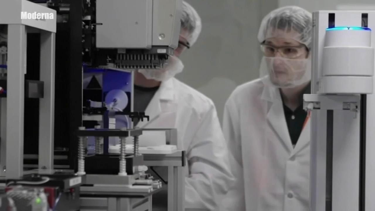 Moderna asking US, European regulators to OK its virus shots
