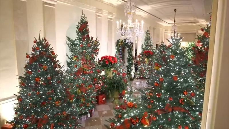 White House Christmas decorations: Melania Trump's 2020 holiday