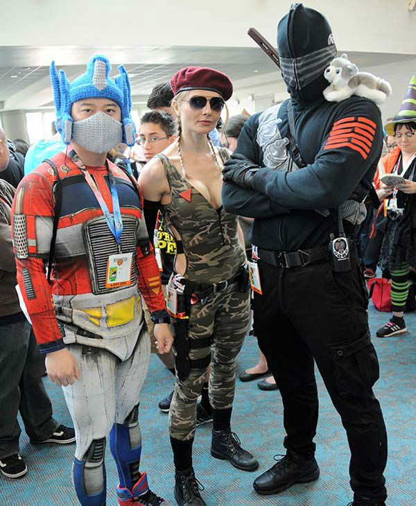 "<div class=""meta image-caption""><div class=""origin-logo origin-image none""><span>none</span></div><span class=""caption-text"">Cosplayers attend Comic-Con International 2015 on July 8, 2015 in San Diego, California. (Albert L. Ortega/Getty Images)</span></div>"