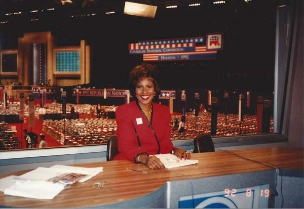 <div class='meta'><div class='origin-logo' data-origin='none'></div><span class='caption-text' data-credit='KTRK Photo'>Melanie Lawson during the 1992 election coverage</span></div>