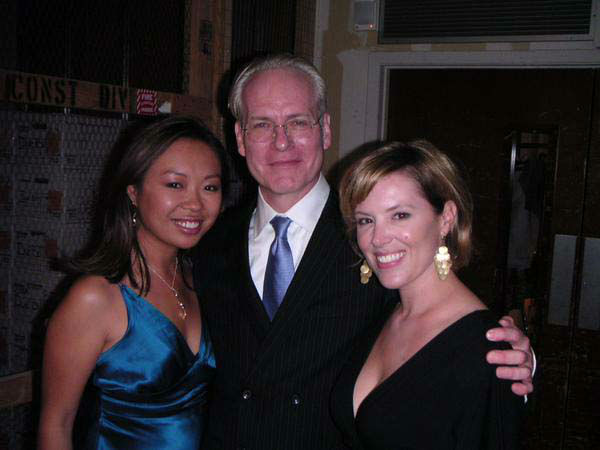 <div class='meta'><div class='origin-logo' data-origin='none'></div><span class='caption-text' data-credit='KTRK Photo'>Miya Shay and Casey Curry met Tim Gunn several years ago</span></div>