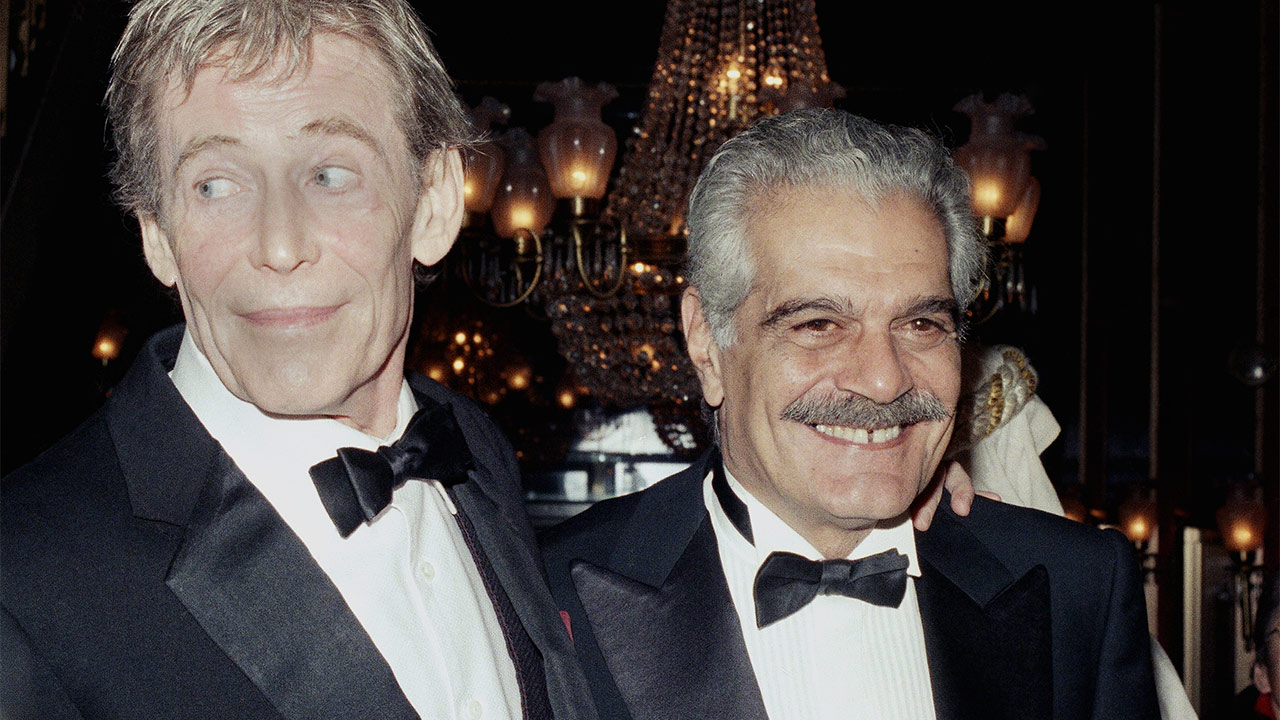 Omar Sharif with Peter O'Toole