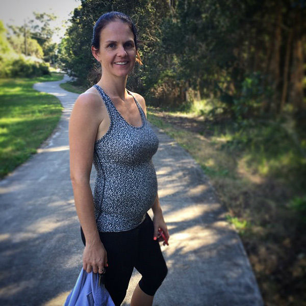 "<div class=""meta image-caption""><div class=""origin-logo origin-image none""><span>none</span></div><span class=""caption-text"">Now pregnant with her sixth child, Kieser says she's doing it all over again, ''eating healthy, admitting that it's not my baby that wants the mountain of junk food, it's me!'' (Photo/Courtesy of Sharny Kieser)</span></div>"