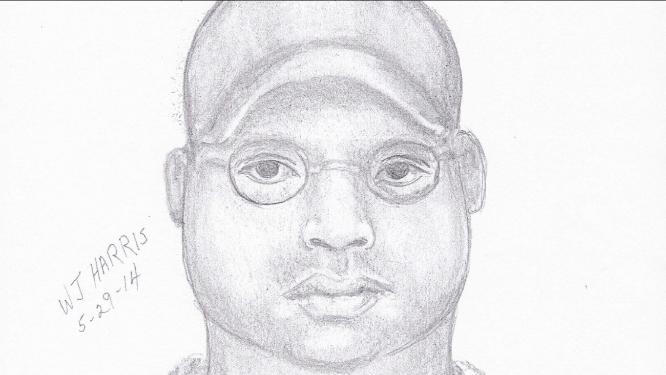 Home invasion suspect sketch