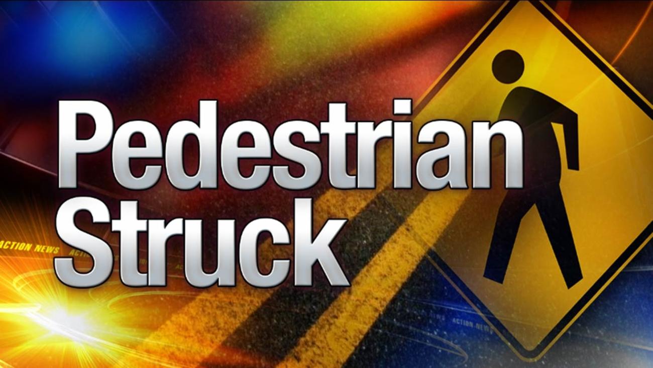 Pedestrian struck