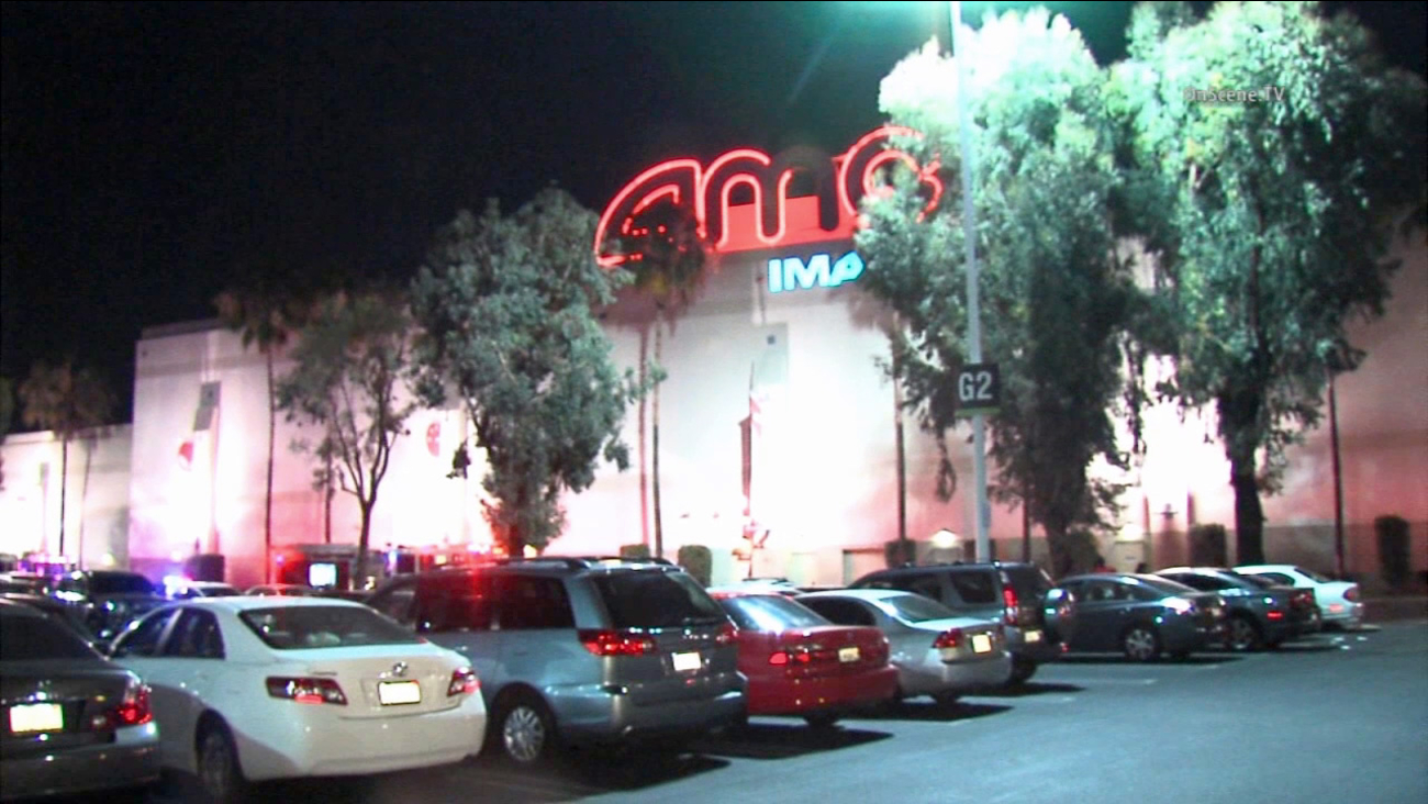 Burnt popcorn at an AMC Theatre in Orange caught fire and briefly shut down the business on Friday, July 10, 2015.