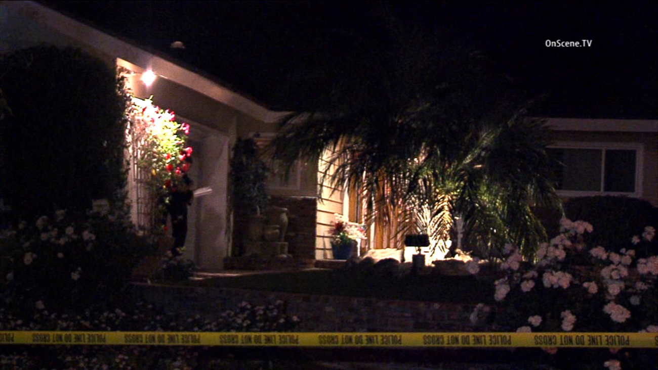 An elderly woman who lives alone was injured when a man forced his way in to her Burbank home on Friday, July 10, 2015.