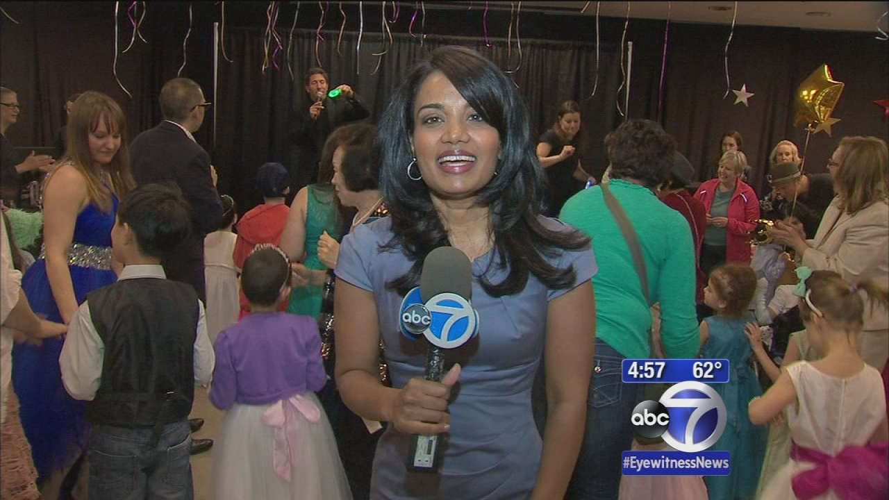 Memorial Sloan Kettering holds prom for pediatric cancer