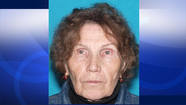 Valentina Matyushina, 74, was last seen at her home in Walnut Creek, Calif. on Friday, July 10, 2015.