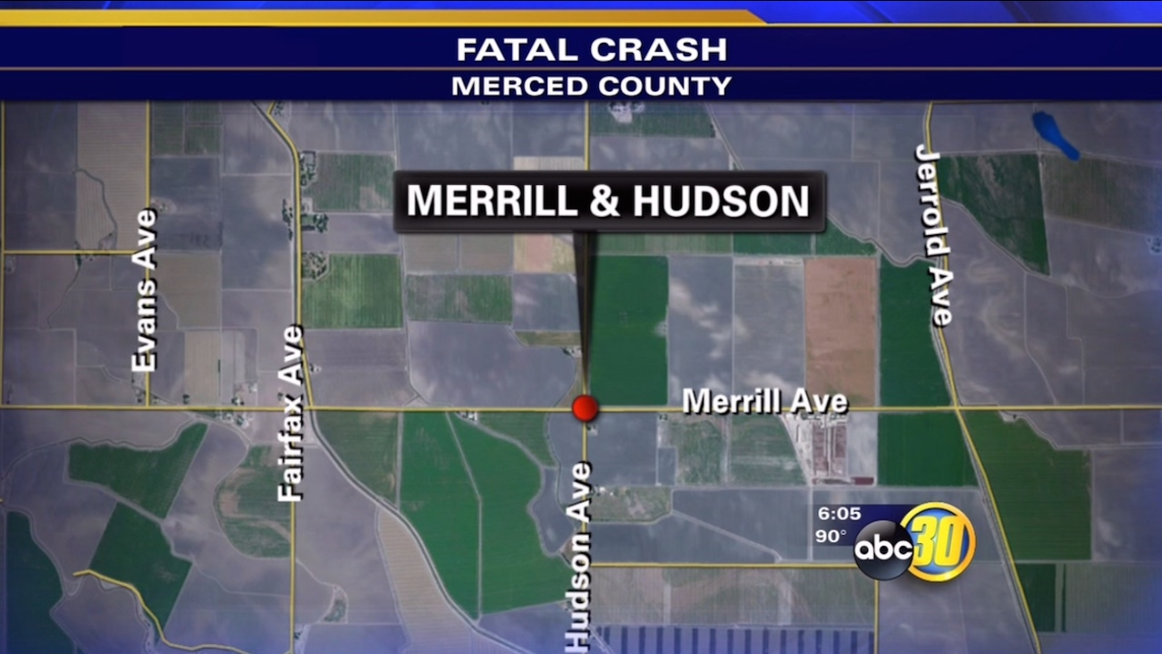Merced County fatal traffic accident