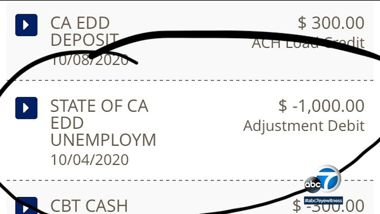 California Unemployment Woman Finally Gets Edd Funds Back From Bank Of America After 2 Months Abc7 Los Angeles