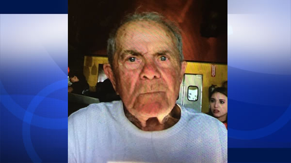 Pasquale Palmieri Sr., 86, was last seen on Saturday, July 11, 2015 at his home in Castro Valley, Calif.