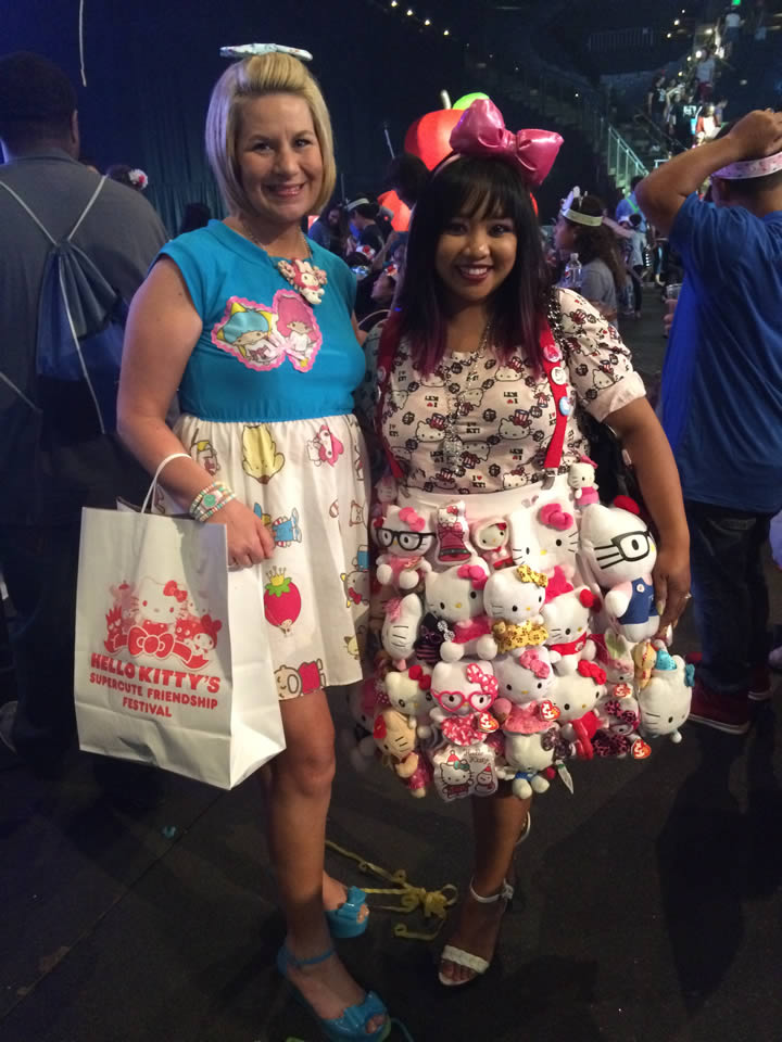 """<div class=""""meta image-caption""""><div class=""""origin-logo origin-image none""""><span>none</span></div><span class=""""caption-text"""">Fans of all ages enjoyed the 'Hello Kitty Supercute Friendship Festival' in Oakland, Calif. on Sunday, July 12, 2015. (KGO-TV)</span></div>"""
