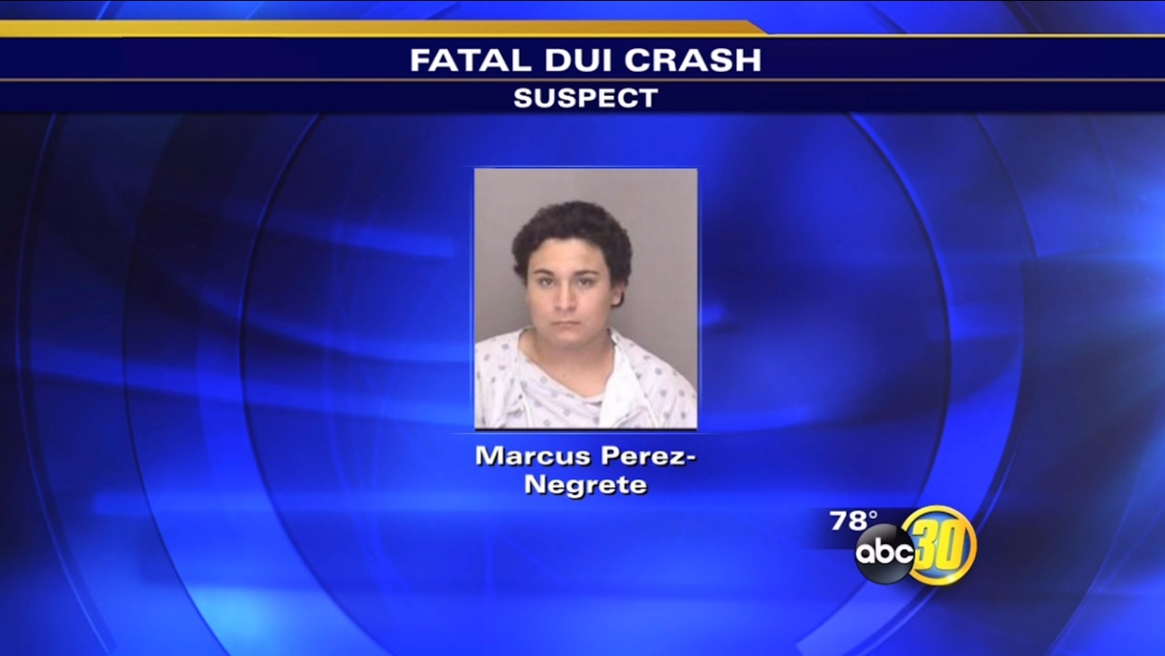 Los Banos police arrested Marcus Perez-Negrete, 20, of Clovis after a deadly crash on Sunday, July 12, 2015.